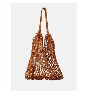 ZARA leather handbag